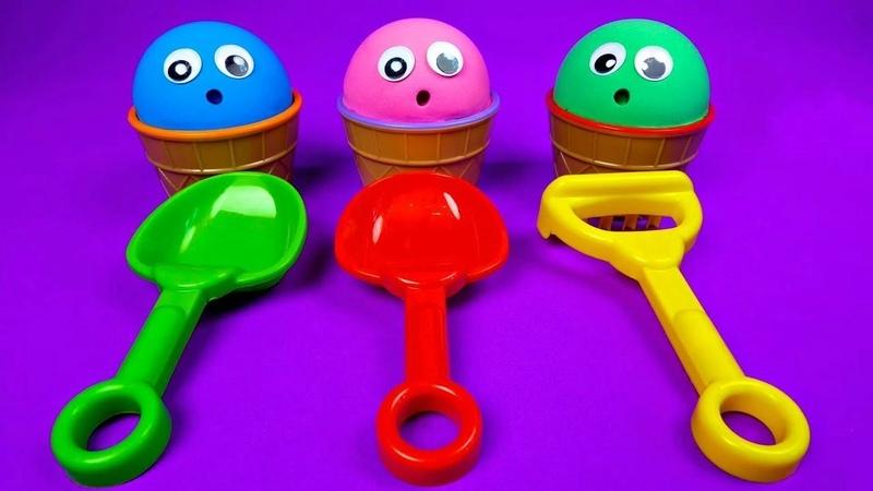 Le déballage: LOL surprise et les autres jouets pour enfants. Apprenez les couleurs en français.
