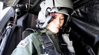 여성 아파치 헬기 조종사: Korea Female Apache AH-64 Attack Helicopter pilot