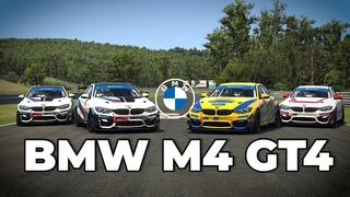 iRacing - BMW M4 GT4 / Available for Season 3