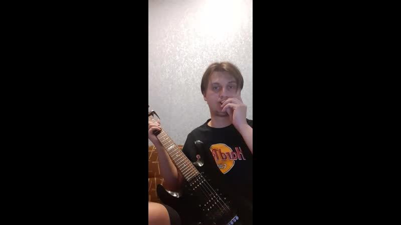 Deep Purple Smoke on the water guitar cover Dmitriy Slap Soul of Rain