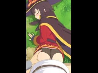Megumin - vaginal; rape; 3D sex porno hentai; [Konosuba]