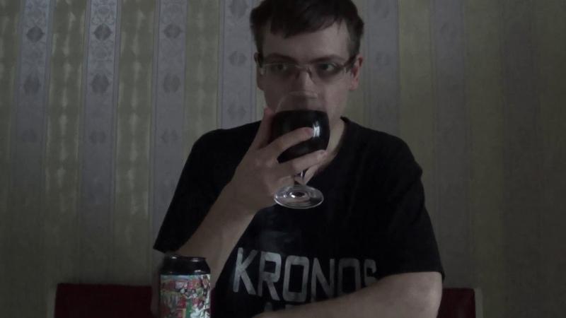 Обзор на кухне пиво RIS Lord of the sands Lis brew