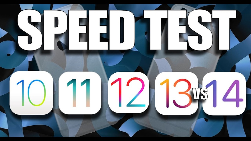 Speed Test How does iOS 14 perform against iOS 13 iOS 12 iOS 11 or iOS 10