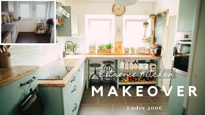 3 Tự Tay Sửa Căn Bếp Nhỏ DIY Small Kitchen Makeover On a Budget Under 400€ SUB