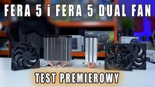Fera 5 i Fera 5 Dual Fan - test premierowy nowych chłodzeń od Silentium PC