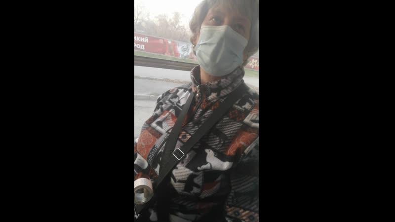 Пыль в Ачинском автобусе