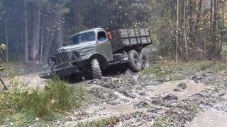 Советский грузовик ЗиЛ-157 против подготовленных внедорожников