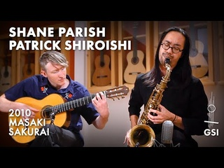 """Shane Parish & Patrick Shiroishi performing """"A Tear For Every Empty Seat"""" for saxophone and guitar (2021)"""
