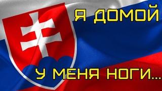 Чуть не разбил камеру/Чуть не попал в аварию/Спешу домой #Словакия #Чехия #ДорогиСловакии #Дальнобой