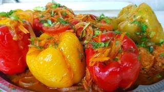 Рецепт просто ОГОНЬ! Век живи, век учись! Фаршированные перцы - самый простой и вкусный рецепт!