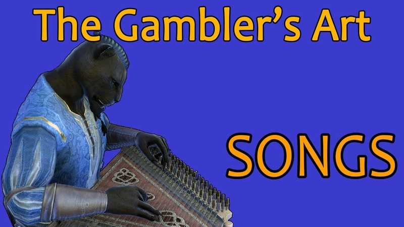 ESO Songs The Gambler's Art Male Version