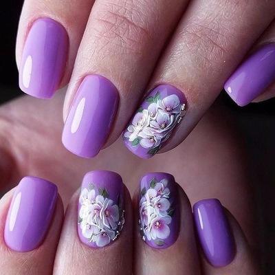 маникюр ногти вконтакте