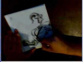 speed art , earthworm jim, pencil & coal (Speed Drawing)