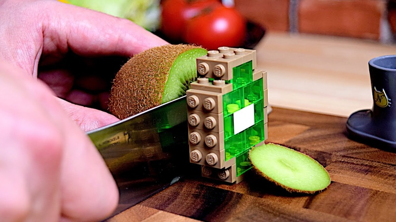 Lego Breakfast Lego In Real Life 5 Stop Motion Cooking ASMR