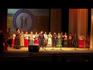 Финал III Республиканского конкурса казачьей песни Казачий круг 2019.