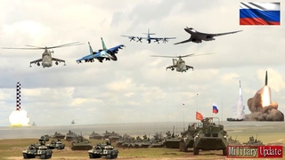 """10 weapons """"land, sea, air"""" that Russia would use against the Ukraine Alliance if a war broke out"""