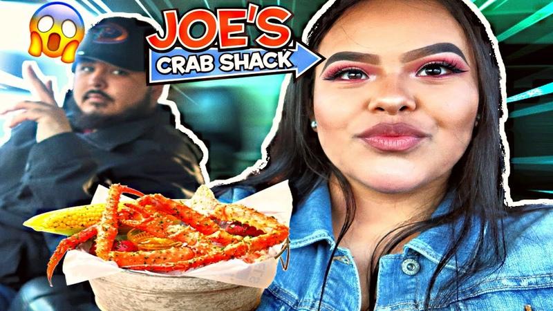 JOES'S CRAB SHACK SEAFOOD BOIL MUKBANG 😋