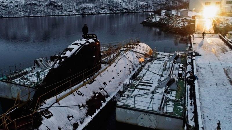 К 3 Первая атомная подводная лодка