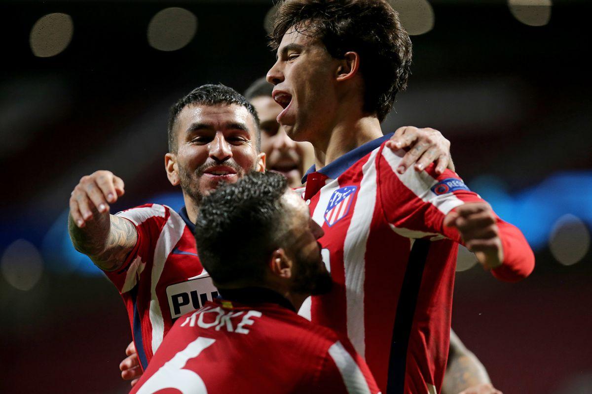 Атлетико Мадрид - РБ Зальцбург, 3:2. Лига чемпионов