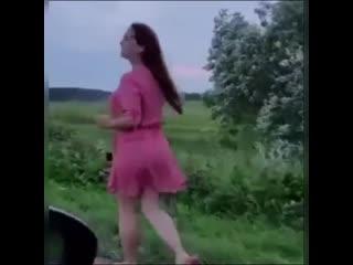 вот это попутчица))