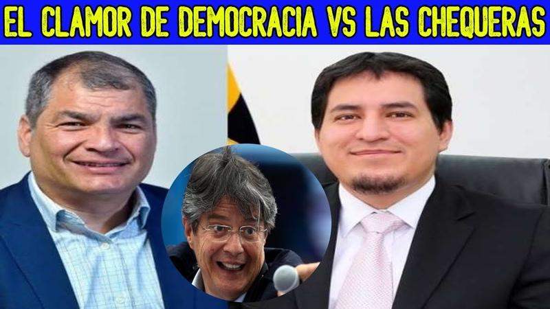 Ya no es CORREA ahora van por ARAUZ | Ecuador triunfara la DEMOCRACIA | no a las CHEQUERAS