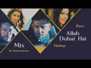 Allah Duhai Hai - Mashup | Hrithik Roshan, Tiger Shroff, Katrina Kaif, Disha Patani- VM | Race - Mix
