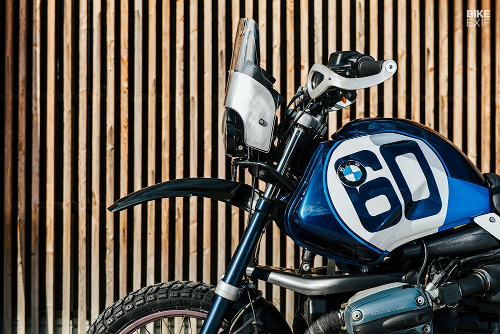 Toma Customs: кастом турэндуро BMW R1150GS