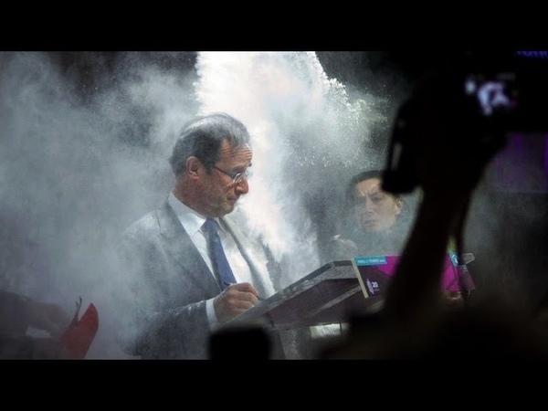 Fran ois Hollande asperg de farine
