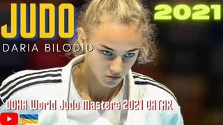 Judo DARIA BILODID UKR - DOHA World Judo Masters 2021 QATAR /  / Day 1