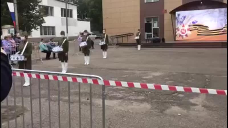 Барабанщицы Марш Андрей Ключеров и О Литвин