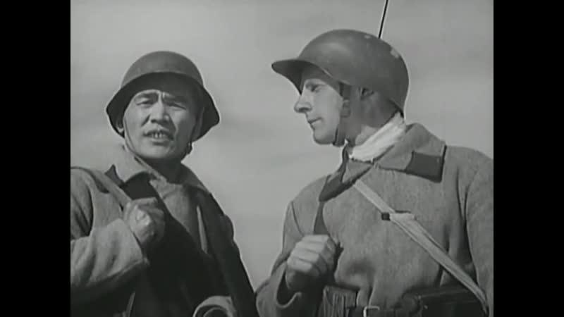 Боевой киносборник 12 Фильм 1942 года Советский военный фильм смотреть отечественная война СССР