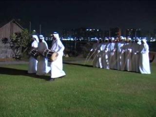 """Razafat"" and ""Yula"" traditional Arab dance, Abu Dhabi"