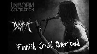 Dispyt - Finnish Crust Overload (Live Video) - Black/Death Metal/Crust (Finland)