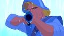 Джон Смит знакомится с Покахонтас. Покахонтас (1995) год.
