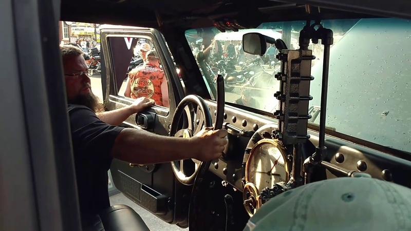 Sturgis 2017 Hauk Steam powered Jeep