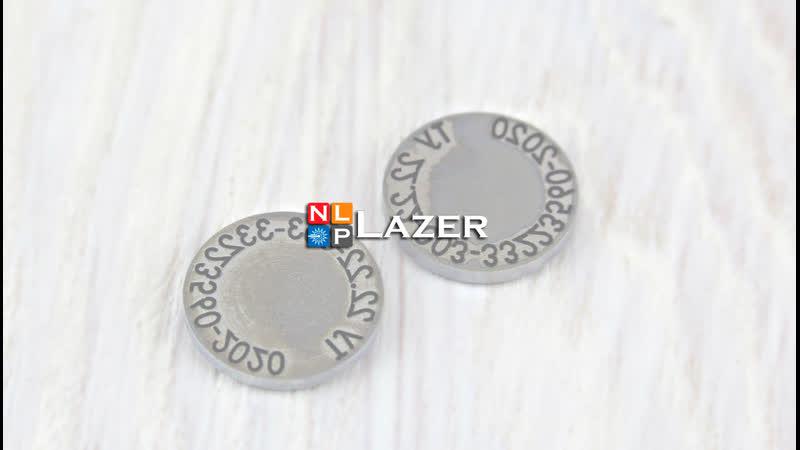 Гравировка элемента пресс формы от NLP LAZER