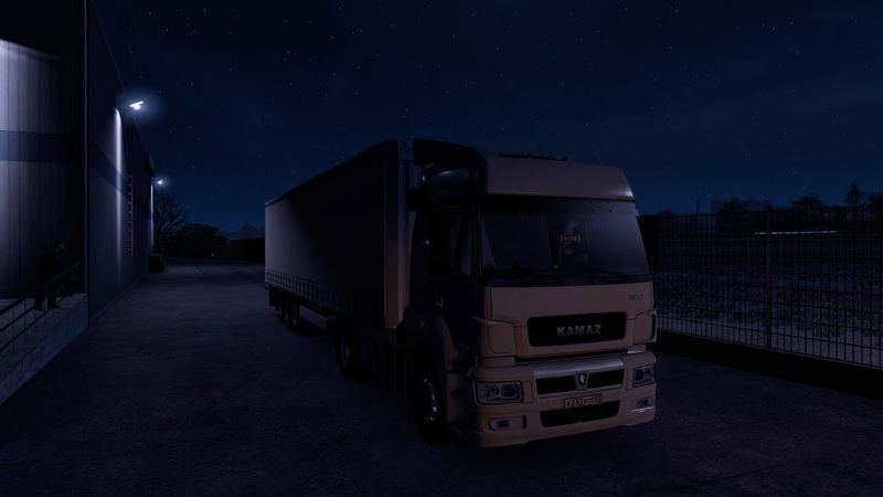 KAMAZ 5490 Neo Krone Maykop → Armavir I Euro Truck Simulator 2 ETS 2 1 36