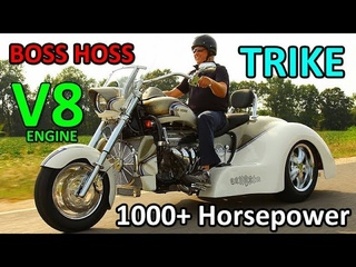 TRIKES with BIG ENGINE - BOSS HOSS (1000 Horsepower UP)