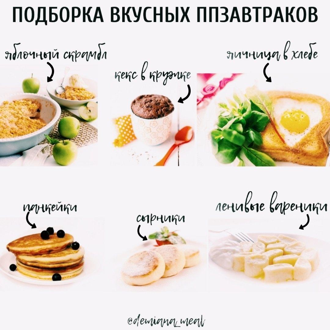 Варианты Правильного Завтрака При Похудении. Завтрак для похудения: полезное меню и рецепты