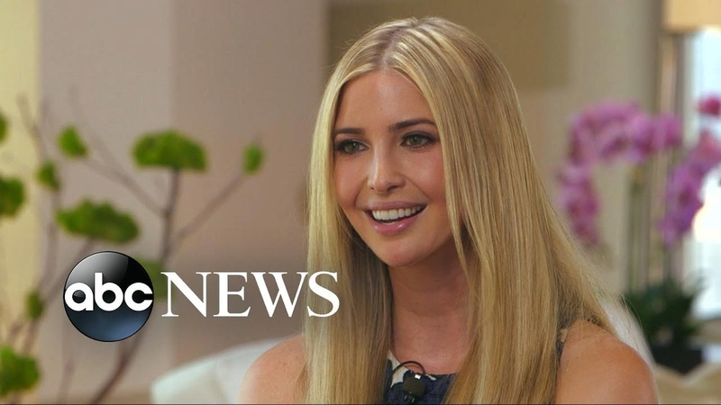 Ivanka Trump Defends Father Donald Trump, Says He Speaks From the Heart