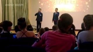 Школьники поют песню из Tokyo Ghoul(Opening), смотреть всем! (я ржу)