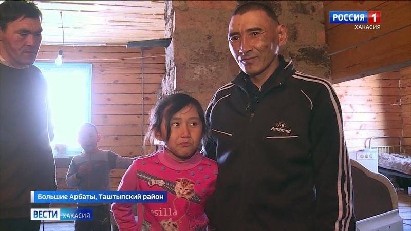 Инвалидность не приговор житель деревни Большие Арбаты один воспитывает двоих детей и строит дом