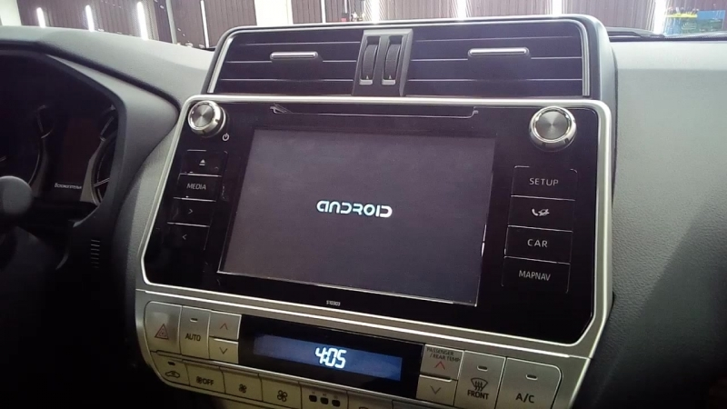 Android в Toyota LC150