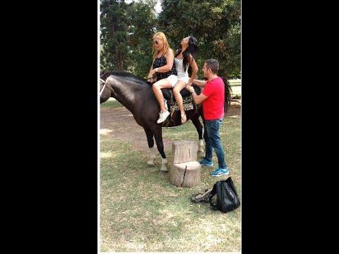 Cómo subir a un caballo con ponyboy