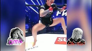 ZUSJE KAMILA SMOGULECKA FAME MMA FIGHTER