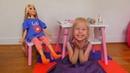 Алиса и Новая Кукла Принцесса Рапунцель Куклы Принцеса Alice Pretend Play поменяться местами