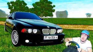 КУПИЛ BMW M5 e 39 - САМЫЙ БАНДИТСКИЙ БУМЕР - CITY CAR DRIVING + РУЛЬ