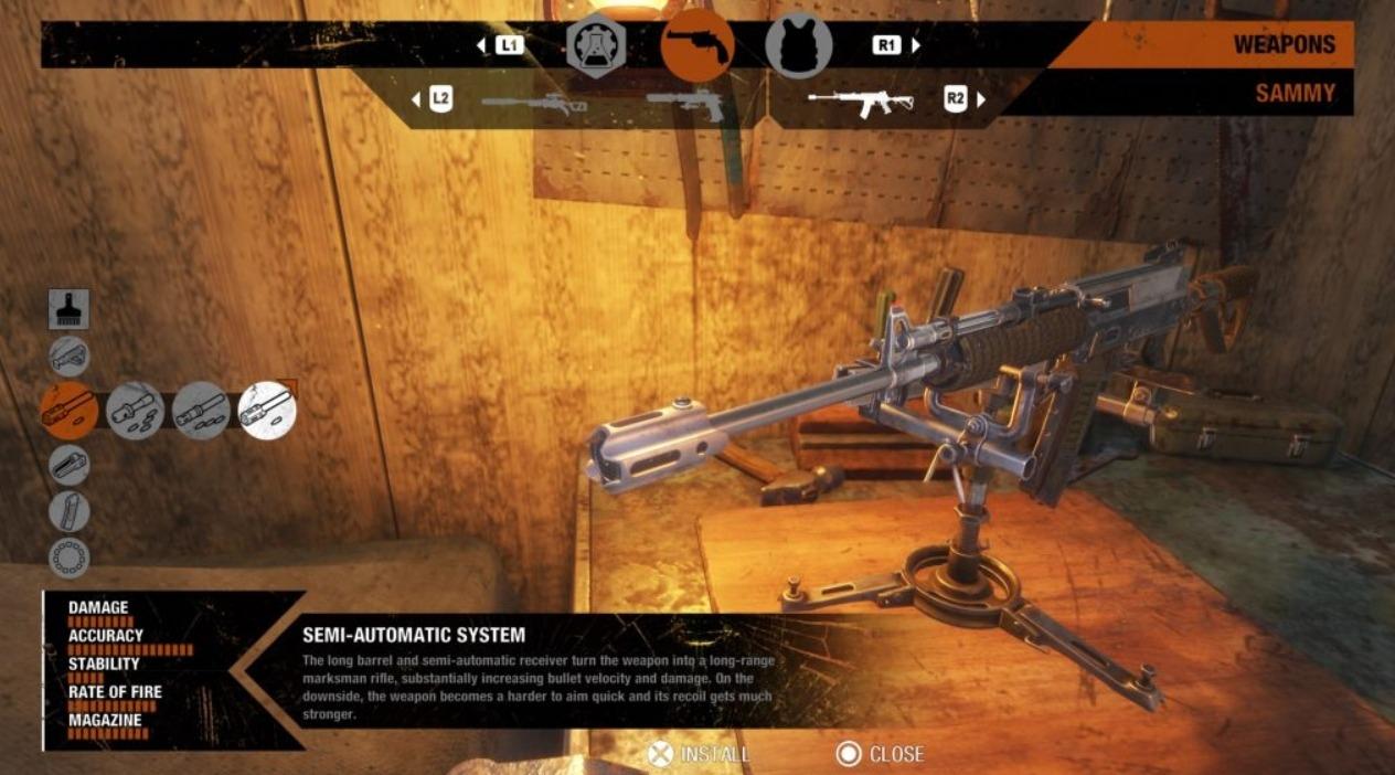 Улучшения для оружия в Metro Exodus История Сэма