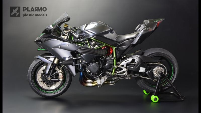 Kawasaki Ninja H2R Tamiya 1 12 Motorcycle Model