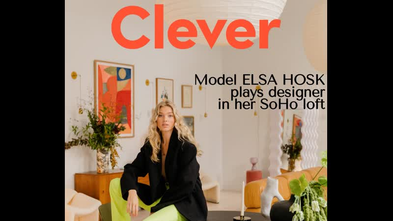 Inside Supermodel Elsa Hosk's Vintage Filled SoHo Loft Architectural Digest
